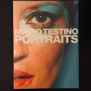 Other - Mario Testino Portraits Hardcover Book Fashion
